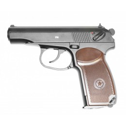 Пневматический пистолет Gletcher PM (4.5 мм, металл, Макаров)